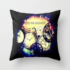 Seize the Moment Throw Pillow