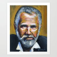 The Most Interesting Man… Art Print