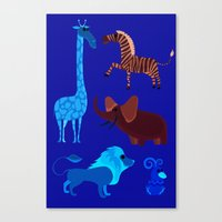 Animal Fever! Canvas Print