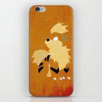 Growlithe iPhone & iPod Skin