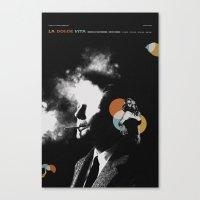 La Dolce Vita Alt Movie … Canvas Print