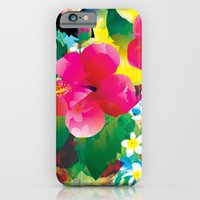 iPhone & iPod Case featuring Hawaiian jungle by Akwaflorell