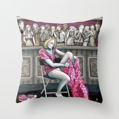 Audience 2 Throw Pillow