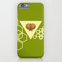 iPhone & iPod Case featuring Geometric Snail by TigerWolf