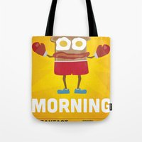 Bring It Morning Tote Bag