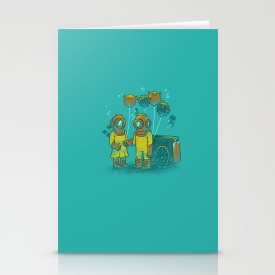 the BalloonFish Vendor Stationery Card