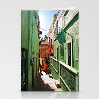 Guanajuato sidestreets Stationery Cards