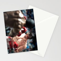 Apollo Creed vs Rocky Balboa Stationery Cards