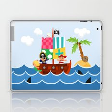 PIRATE SHIP (AQUATIC VEHICLES) Laptop & iPad Skin