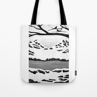 Scissortail Winter Tote Bag