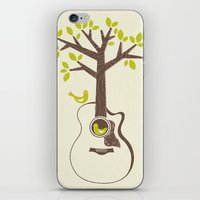 Birds & Acoustic Guitar iPhone & iPod Skin