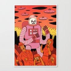 Alien Invader  Canvas Print
