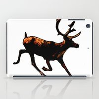 The Mighty Moose Mongoose Reindeer Elk Rentier Caribou iPad Case