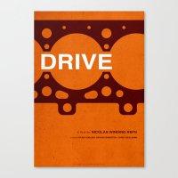 Drive - MINIMALIST POSTER Canvas Print