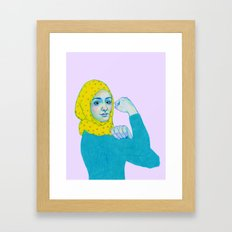 Yes - We Can Do It! Framed Art Print