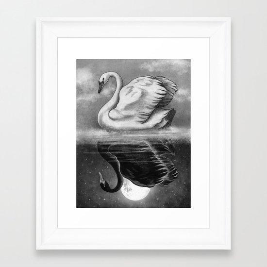 Dark Mirror  Framed Art Print
