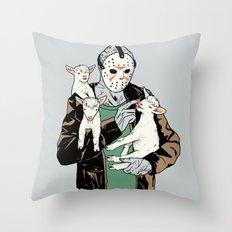 Cute Kid Throw Pillow