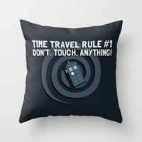 Rule Number One Throw Pillow