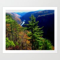 Pennsylvania Grand Canyon Art Print