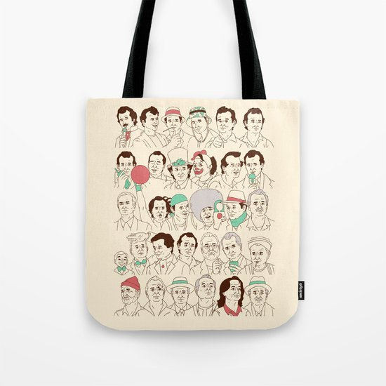 Many Murrays Tote Bag