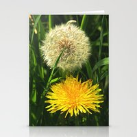 Taraxacum Officinale Stationery Cards
