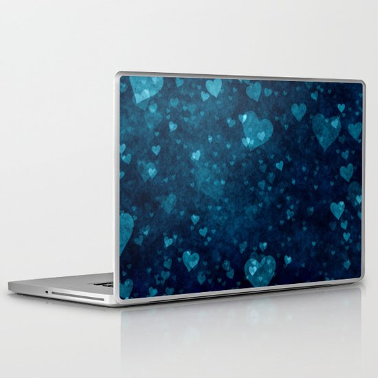 Blue Love Laptop & iPad Skin