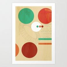Orbital Secret Art Print