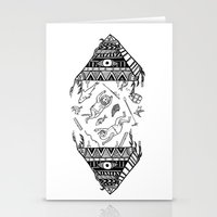 On How The Mystical Levi… Stationery Cards