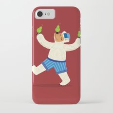 A Bear With Pears (colour variation) Slim Case iPhone 7