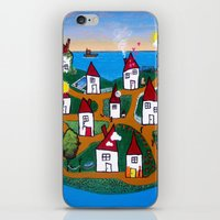 Dream House Island iPhone & iPod Skin