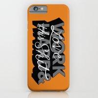 Work Hard & Love This Sh… iPhone 6 Slim Case