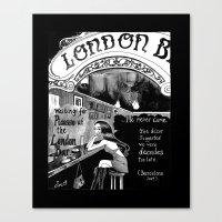 London Bar Canvas Print