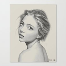 Girl Without a Pearl Earring Canvas Print