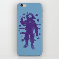 Peace Under Water iPhone & iPod Skin