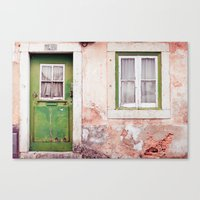 a house full of stories to tell Canvas Print
