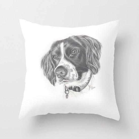 Springer Throw Pillow