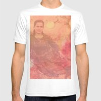 Yiayia Mens Fitted Tee White SMALL