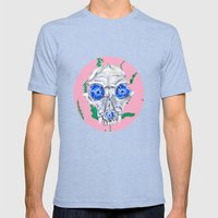 See Into Me Mens Fitted Tee Tri-Blue SMALL