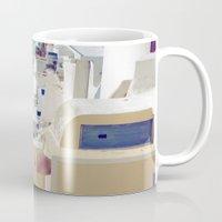 Santorini Door VIII Mug
