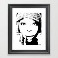 Badu Framed Art Print