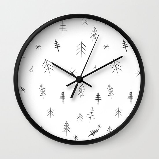 O Christmas tree[s] Wall Clock