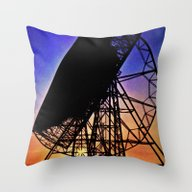Looking And Listening Throw Pillow