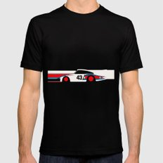 Moby Dick - Vintage Porsche 935/70 Le Mans Race Car Mens Fitted Tee Black SMALL