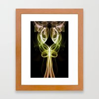 Smoke Photography #17 Framed Art Print
