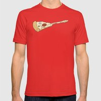 Pizza Hero Mens Fitted Tee Red SMALL