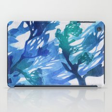 Morning Blossoms 2 - Blue Variation iPad Case