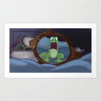 Surprised Art Print