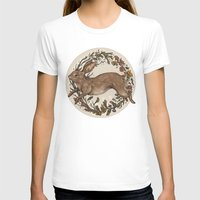 rabbit T-shirts featuring Rabbit by Jessica Roux
