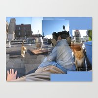 My Pet Orange Pekoe Canvas Print