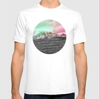 Mount Wisdom [cropped] Mens Fitted Tee White SMALL